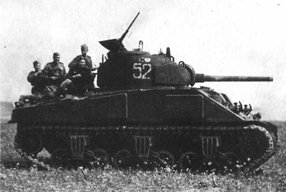 Шерман Красной Армии