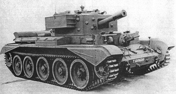 Кромвель – танк тяжелый крейсерский