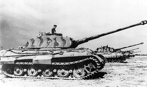 Элитный танк королевский тигр